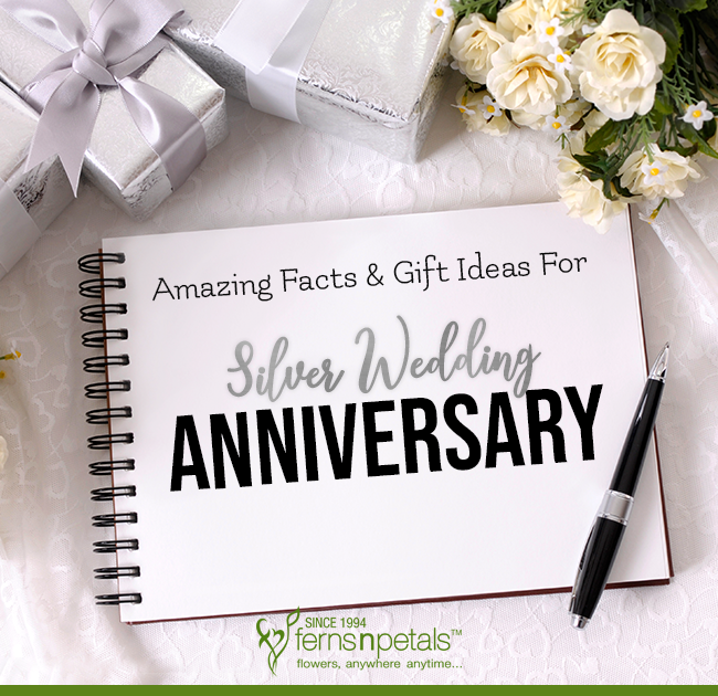 Wedding Anniversary Gift Ideas To Spruce Up Your Silver Jubilee Year