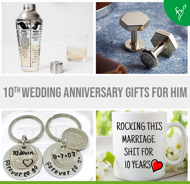 Creative 10th Wedding Anniversary Gifts For Him