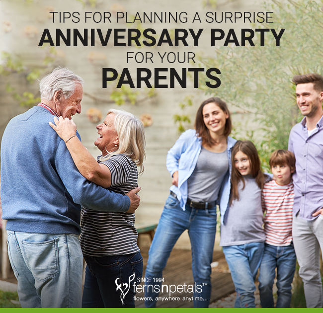 Tips for Planning Anniversary Party
