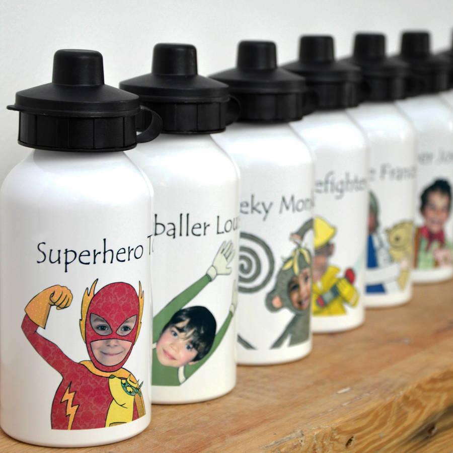 kids personalised bottles
