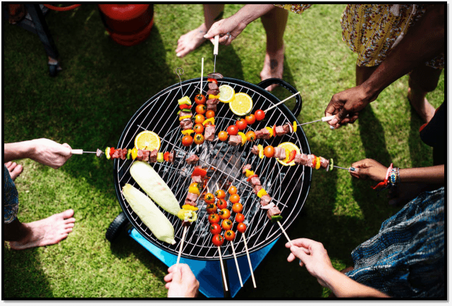 Classic Summertime Barbeque party
