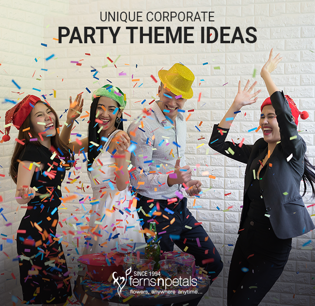 corporate party theme