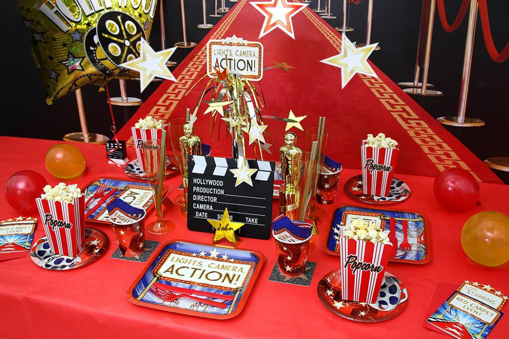 hollywood movie party theme