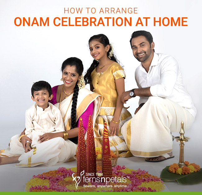 Onam Celebration at home