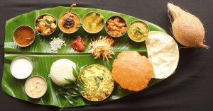 Onam Sadya Food