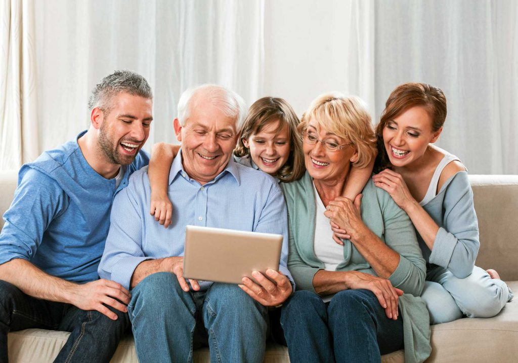 spend time with grand parents