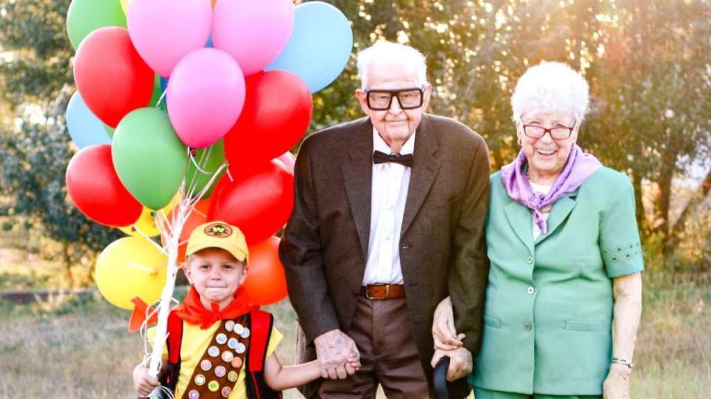 grand parents day party