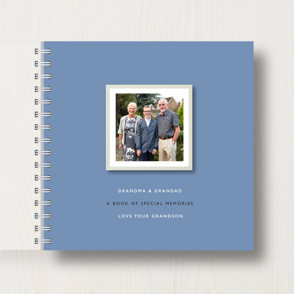 grand parents photo book