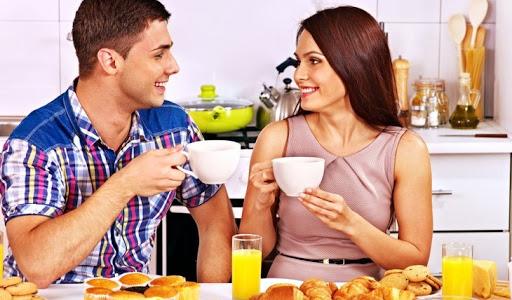 Couple on Breakfast Date