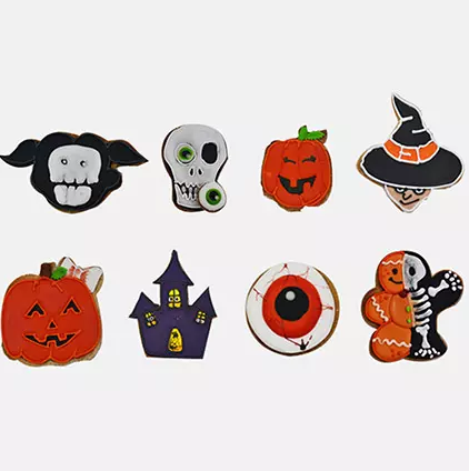Boo Scary Cookies