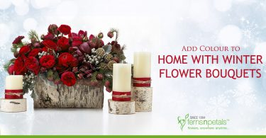 Add Colour to Home with Winter Flower Bouquets