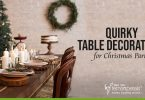 Quirky Table Decorations