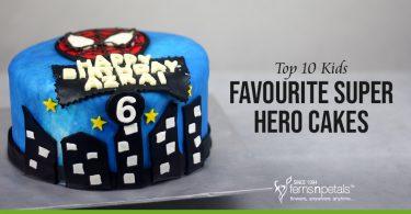 Kids Super Hero Cake