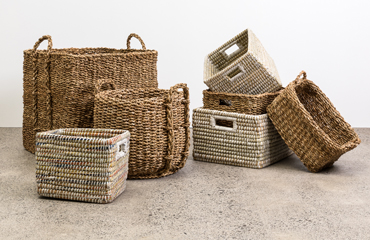 Bamboo Baskets & Boxes