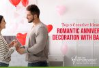 Creative Ideas for Romantic-Anniversary-Decoration with balloons