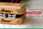 Personalised & Engraved Anniversary Gifts That are Worth Trying
