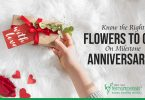 Know the Right Flowers to Gift on Milestone Anniversaries
