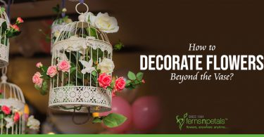 How to Decorate Flowers Beyond the Vase?