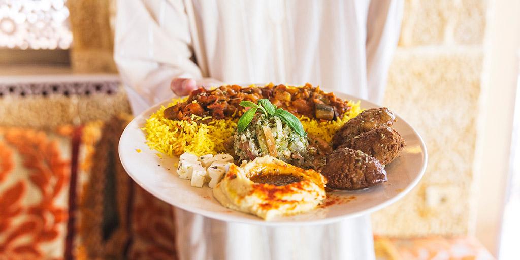 Present Arabic Delicacies