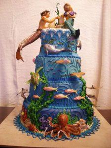 Lost Atlantis Cake by The EvIl Plankton