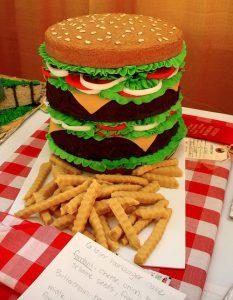 Hamburger Cake by BunchofPants