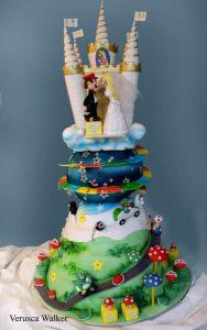 Super Mario Wedding Cake by Verusca Walker