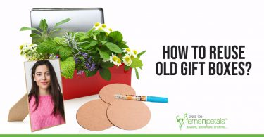 How to Reuse Old Gift Boxes?