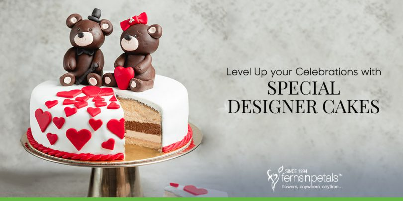 Level Up your Celebrations with Special Designer Cakes