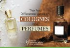 The real difference between cologne and perfume